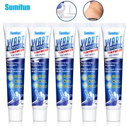 Sumifun 2/5pcs Warts Remover Ointment Antibacterial Wart Treatment Cream Skin Ta